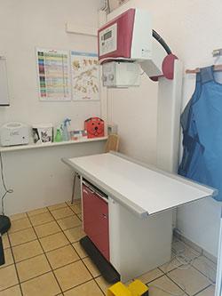 Sala de diagnostic per imatge radiològica